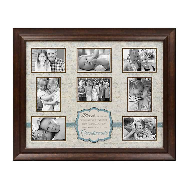 Blessed Are Grandparents Collage Frame Kirklands