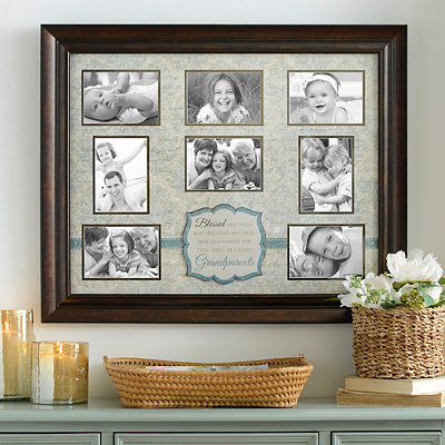 Blessed Are Grandparents Collage Frame
