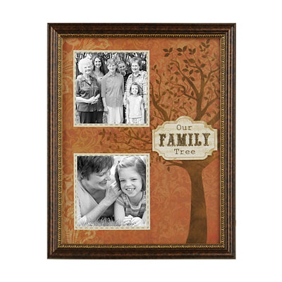 Our Family Tree Spice Collage Frame