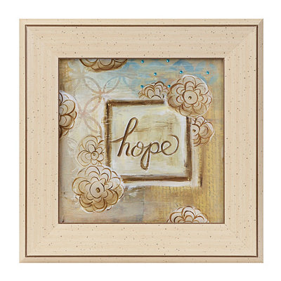 Jeweled Hope Framed Art Print