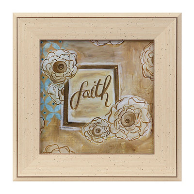 Jeweled Faith Framed Art Print