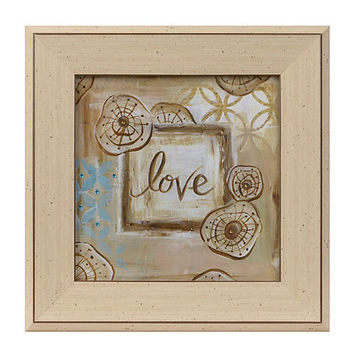 Jeweled Love Framed Art Print