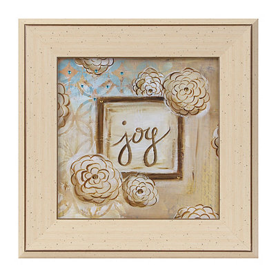 Jeweled Joy Framed Art Print