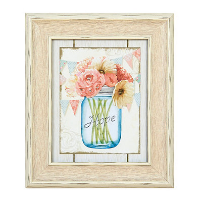 Hope Floral Arrangement Framed Art Print
