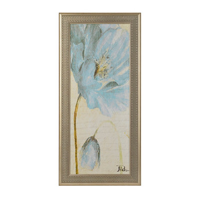 Blue Poppy I Framed Art Print