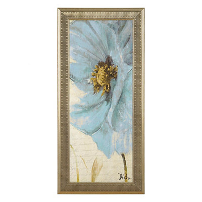 Blue Poppy II Framed Art Print