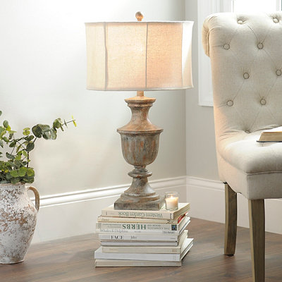 Weathered Seaboard Table Lamp