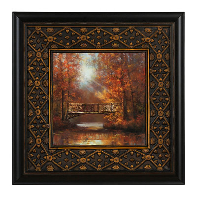 Bridge Of Peace II Framed Art Print