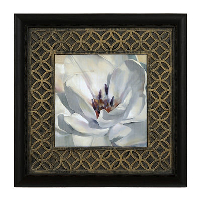 Iridescent Bloom II Framed Art Print