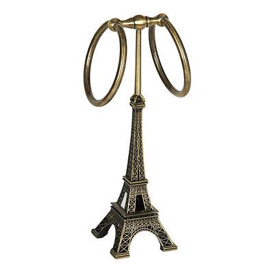 Eiffel Tower Towel Holder