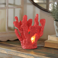 Red Coral Night Light