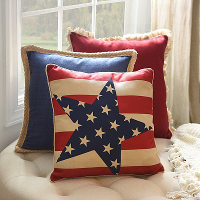 Grand Old Flag Pillow