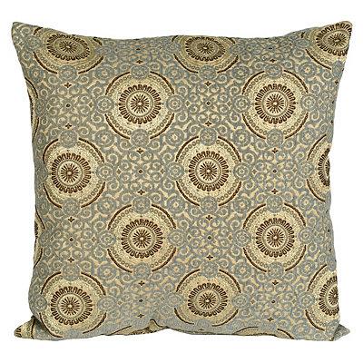 Blue Plinko Pillow