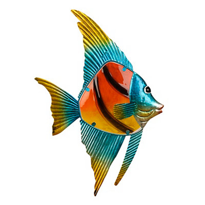 Tropical Fish I Metal Plaque