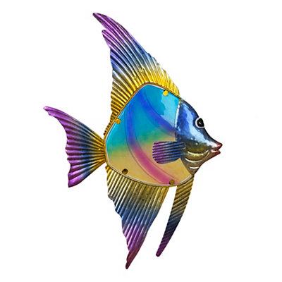 Tropical Fish II Metal Plaque