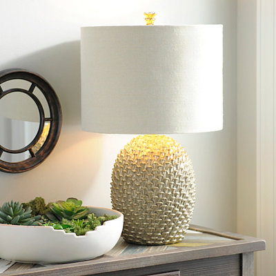 Golden Cone Table Lamp