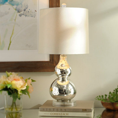 Mercury Blossom Table Lamp