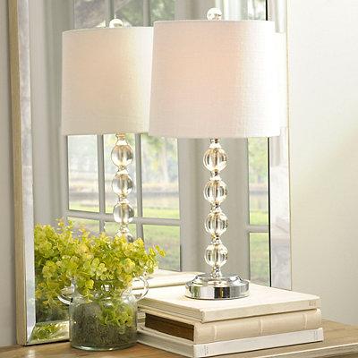 Crystal Ball Table Lamp