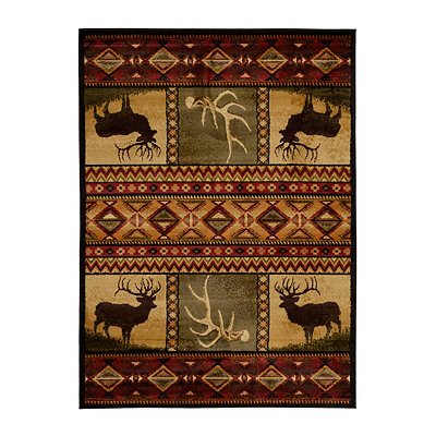 Hunters Dream Area Rug, 5x7