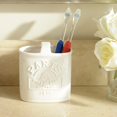 Paris Toothbrush Holder