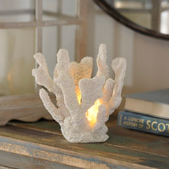 White Coral Night Light
