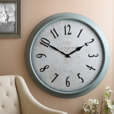 Farmhouse Blue Clock
