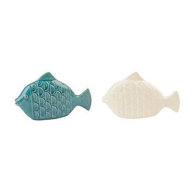 Ceramic Fish Statues
