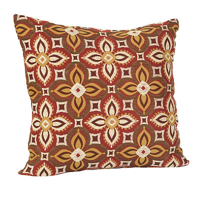 Red and Spice Bonanza Pillow