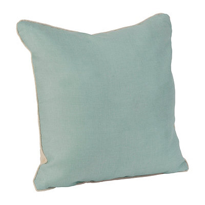 Aqua Dalton Pillow