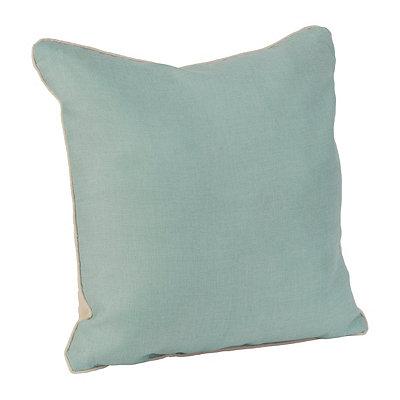 Aqua Dalton Pillow