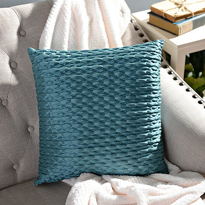 Blue Mave Pillow