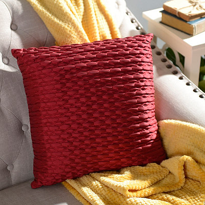 Red Mave Pillow
