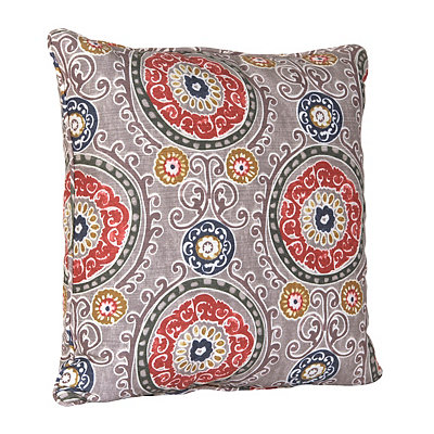 Gray Tamariz Pillow