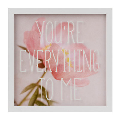 You're Everything to Me Framed Art Print