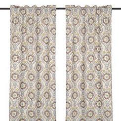Ivory Tamariz Curtain Panel Set, 96 in.