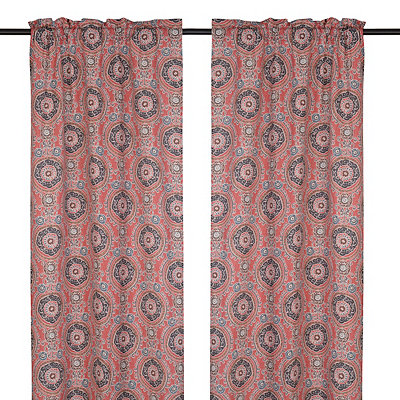 Spice Tamariz Curtain Panel Set, 96 in.