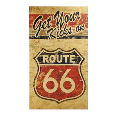 Get Your Kicks on Route 66 Canvas Art Print