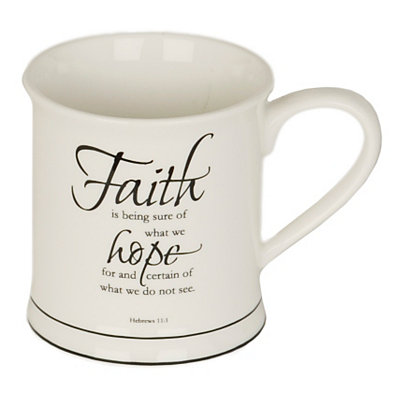 Faith Bible Verse Mug