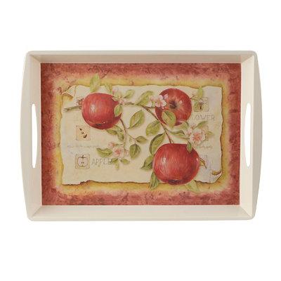Fresh Apples Serving Tray