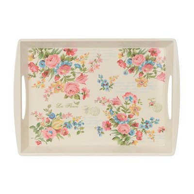 Floral Jardin Serving Tray