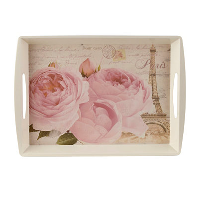 Paris Rose Serving Tray
