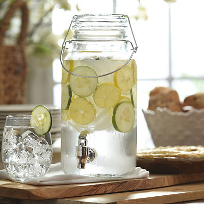 Old-Fashioned Beverage Dispenser