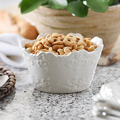 White Sweet Olive Cereal Bowl