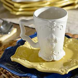 White Sweet Olive Beverage Mug