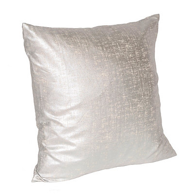 Silver Luxor Accent Pillow