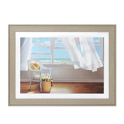 Seaside Memories Framed Art Print