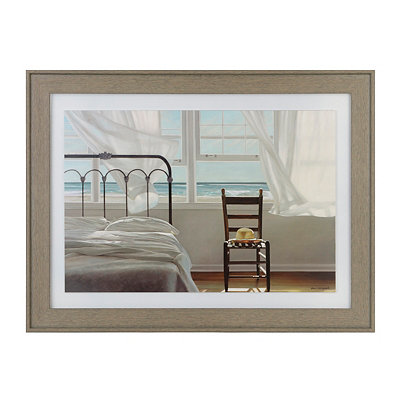 Seaside Dreams Framed Art Print