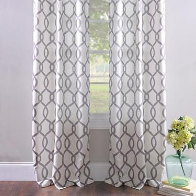 Metallic Avalon Curtain Panel Set, 96 in.   Kirklands
