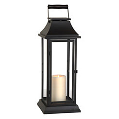 Dark Bronze Metal Lantern