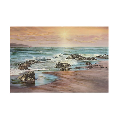 Coastal Sunrise Canvas Art Print